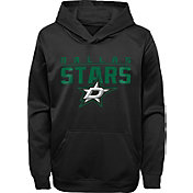 NHL Youth Dallas Stars Pacesetter Black Pullover Hoodie