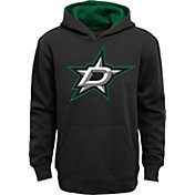NHL Youth Dallas Stars Prime Fleece Black Pullover Hoodie