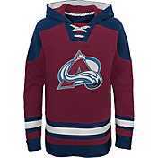 NHL Youth Colorado Avalanche Ageless Maroon Pullover Hoodie