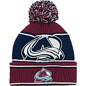 NHL Youth Colorado Avalanche Grind Cuff Pom Knit Beanie