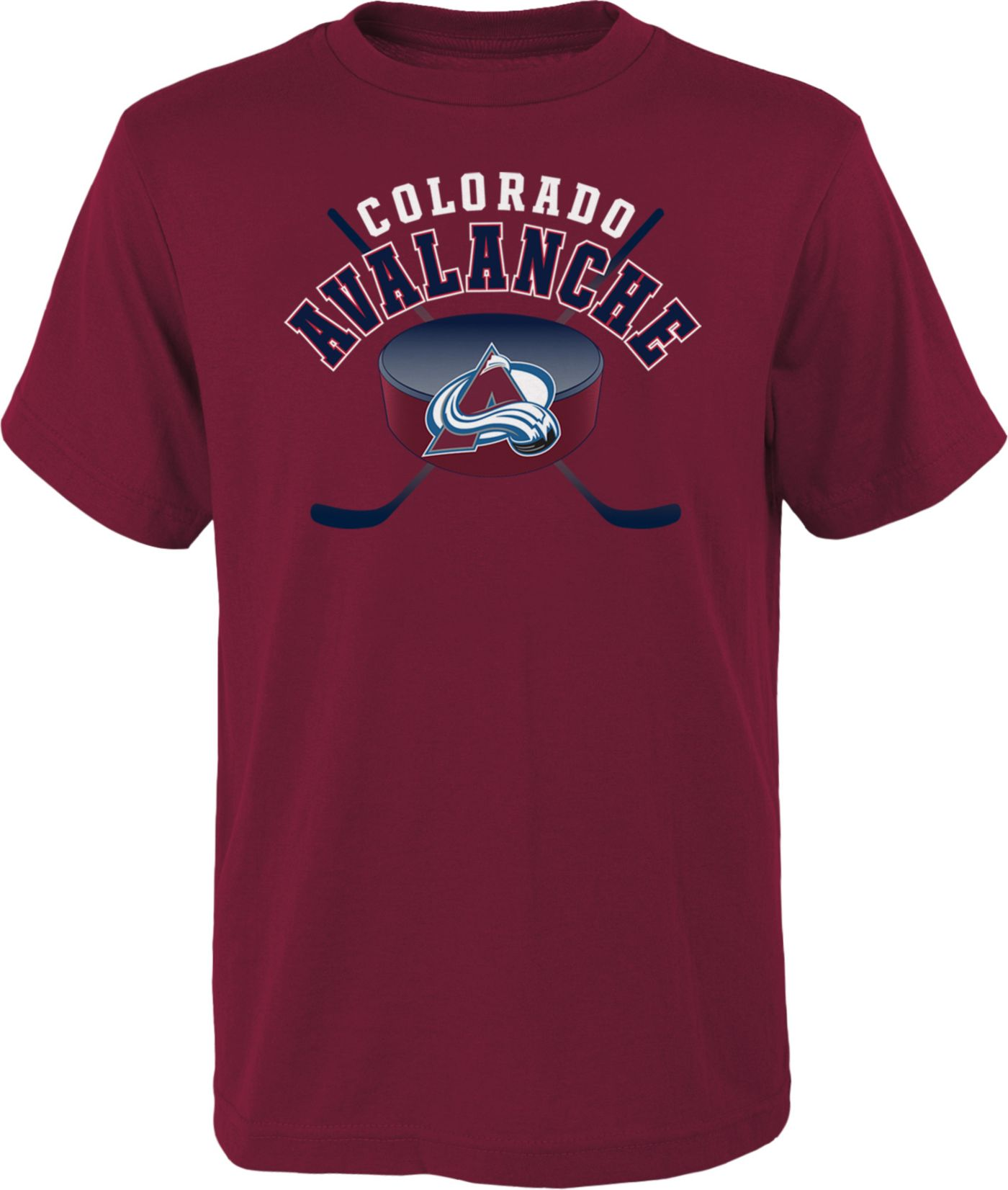 NHL Youth Colorado Avalanche Game Maroon T-Shirt