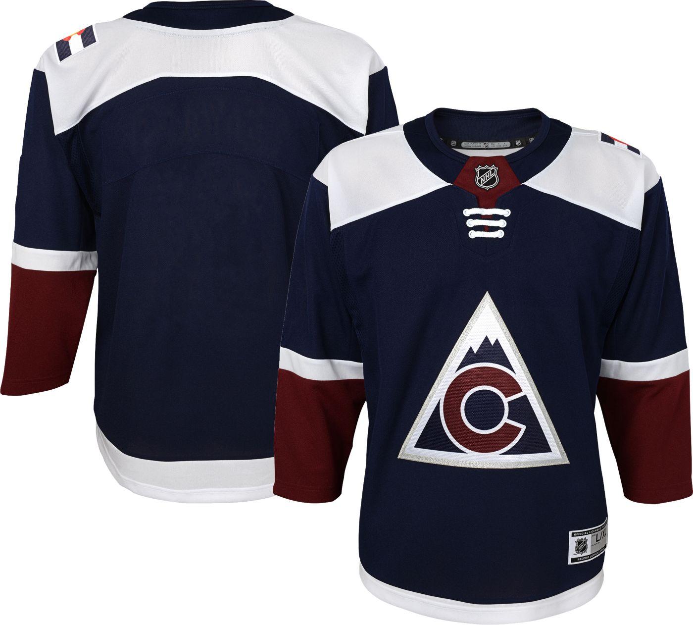 NHL Youth Colorado Avalanche Premier Alternate Jersey