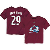NHL Toddler Colorado Avalanche Nathan MacKinnon #29  Player T-Shirt