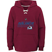 NHL Youth Colorado Avalanche On Ice Red Pullover Hoodie