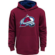 NHL Youth Colorado Avalanche Prime Fleece Maroon Pullover Hoodie