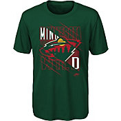 NHL Youth Minnesota Wild Underneath Green Performance T-Shirt