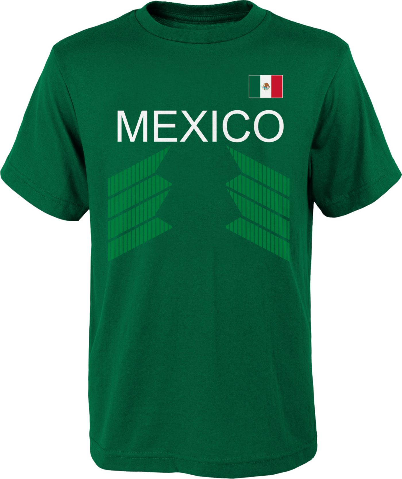 Outerstuff Youth Mexico One Team Green T-Shirt