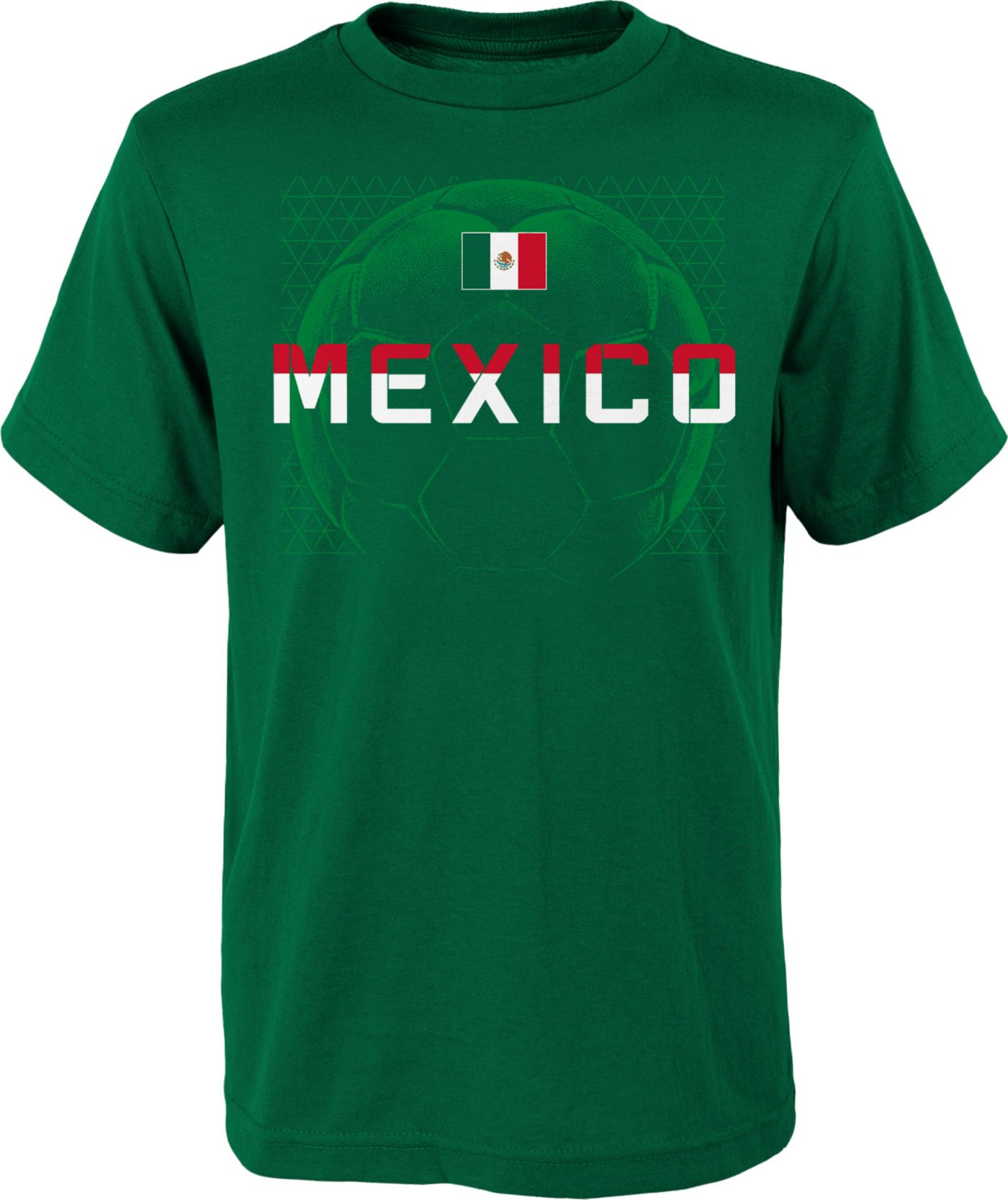 Outerstuff Youth Mexico Penalty Kick Green T-Shirt