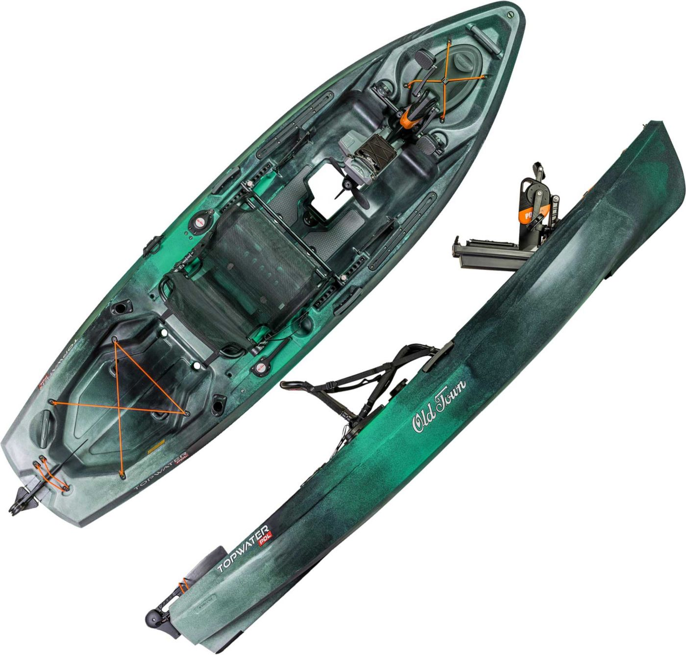 Old Town Topwater 106 PDL Angler Kayak