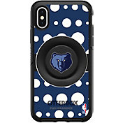 Otterbox Memphis Grizzlies Polka Dot iPhone Case with PopSocket