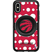 Otterbox Toronto Raptors Polka Dot iPhone Case with PopSocket