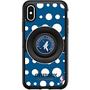 Otterbox Minnesota Timberwolves Polka Dot iPhone Case with PopSocket
