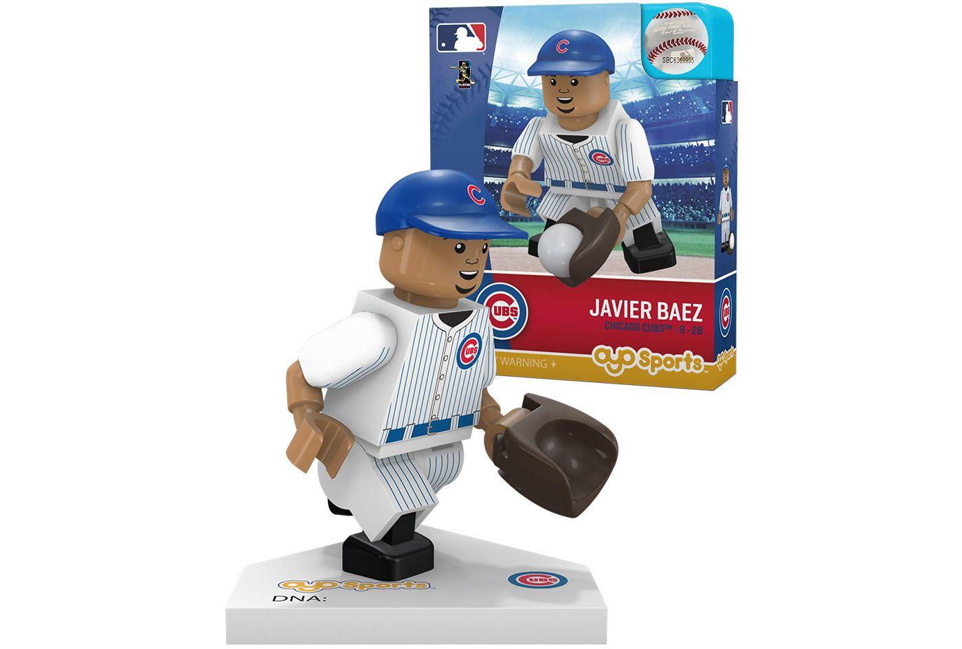 OYO Chicago Cubs Javier Baez Mini Figurine