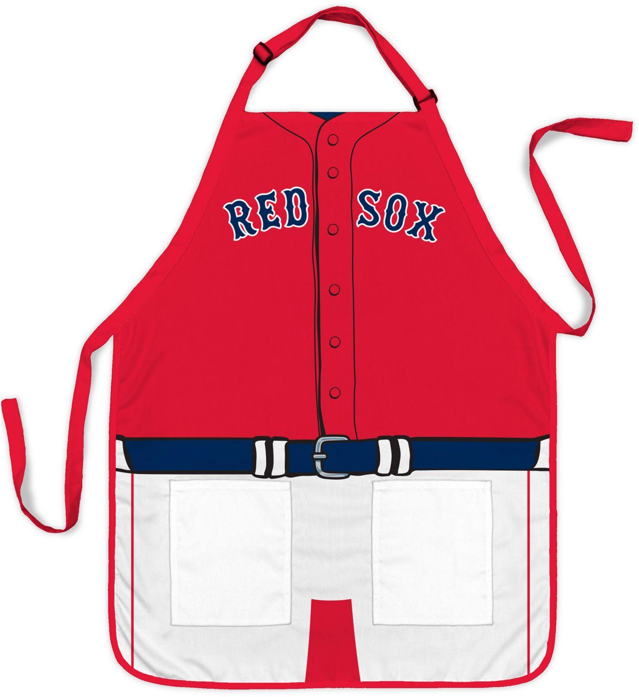Party Animal Boston Red Sox Uniform Apron