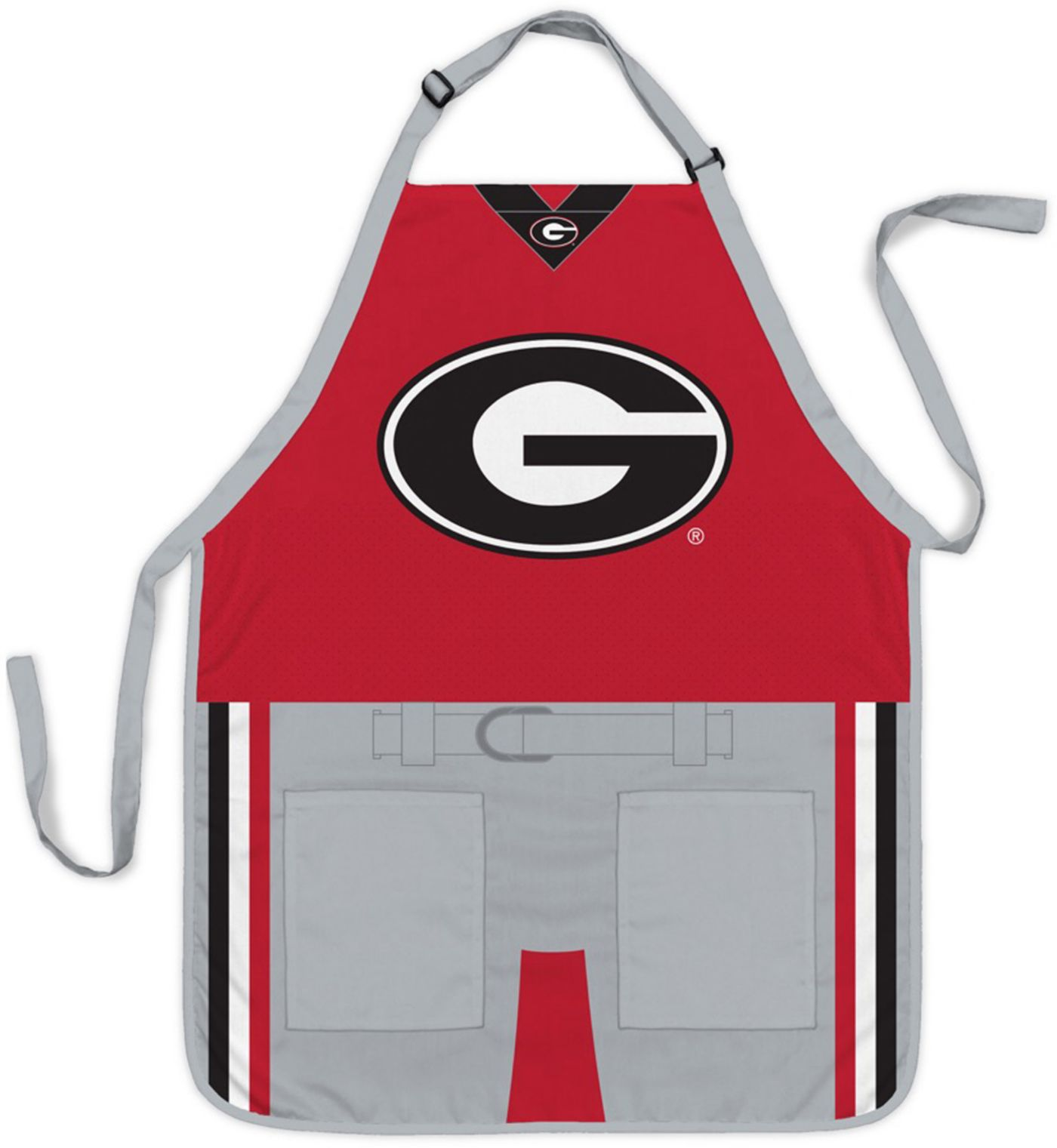 Party Animal Georgia Bulldogs Uniform Apron