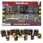 Party Animal Michigan Wolverines TeenyMates Figurine Set