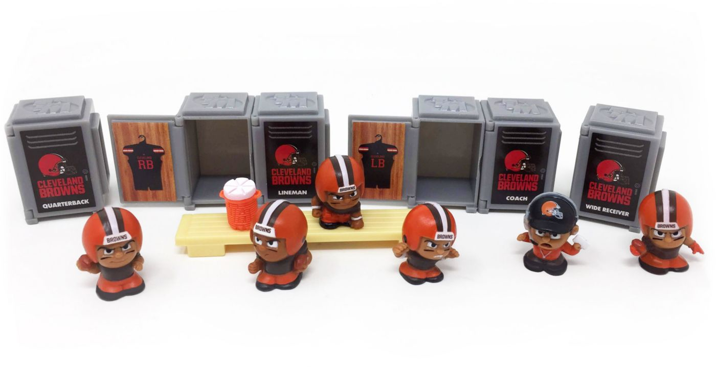 Party Animal Cleveland Browns TeenyMates Figurine Set