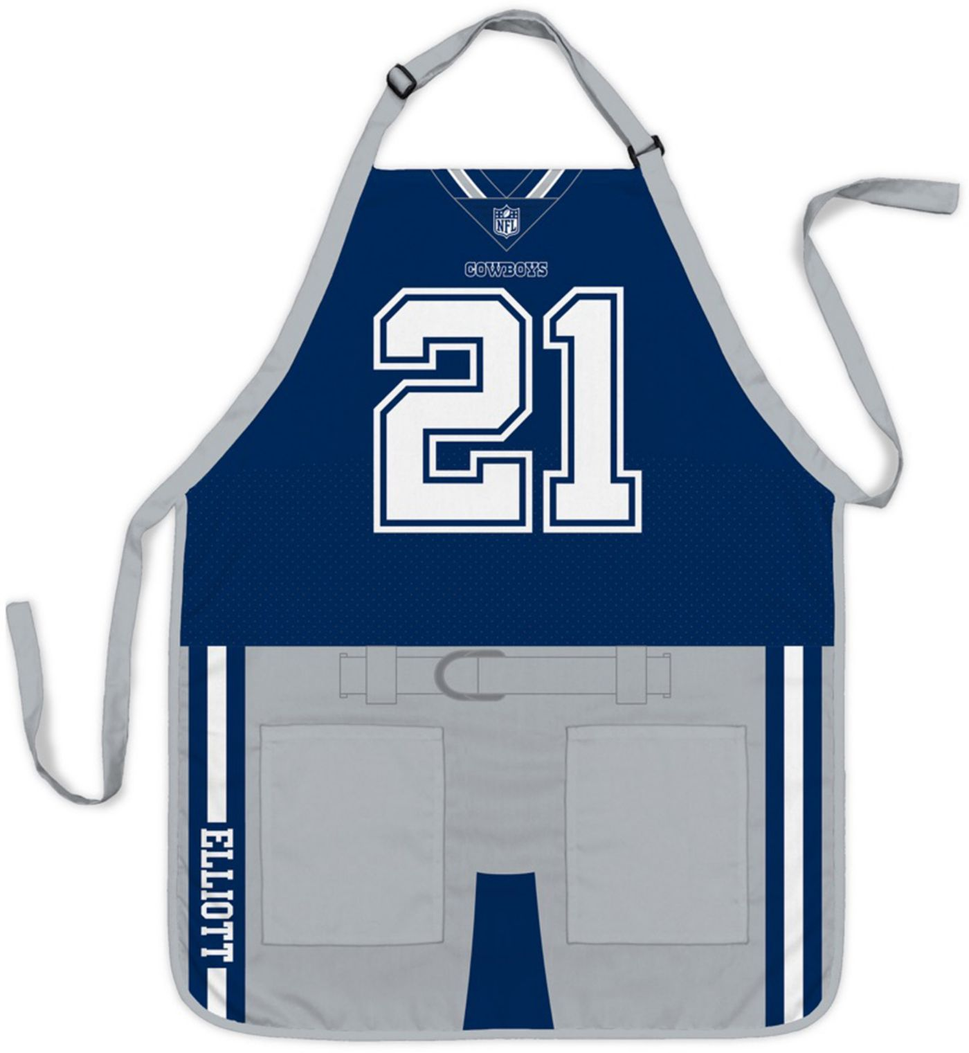Party Animal Dallas Cowboys Ezekiel Elliot Uniform Apron