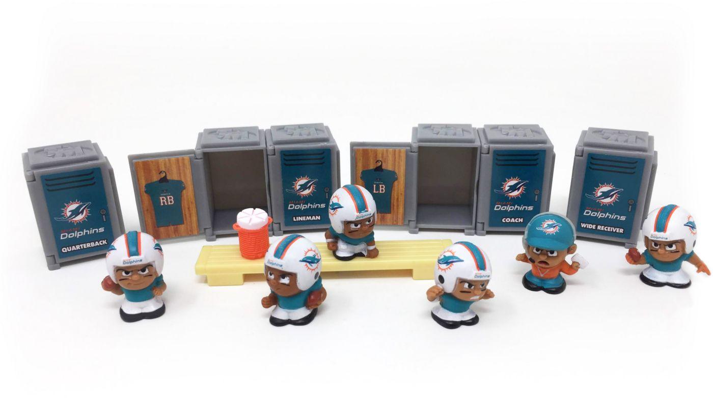 Party Animal Miami Dolphins TeenyMates Figurine Set