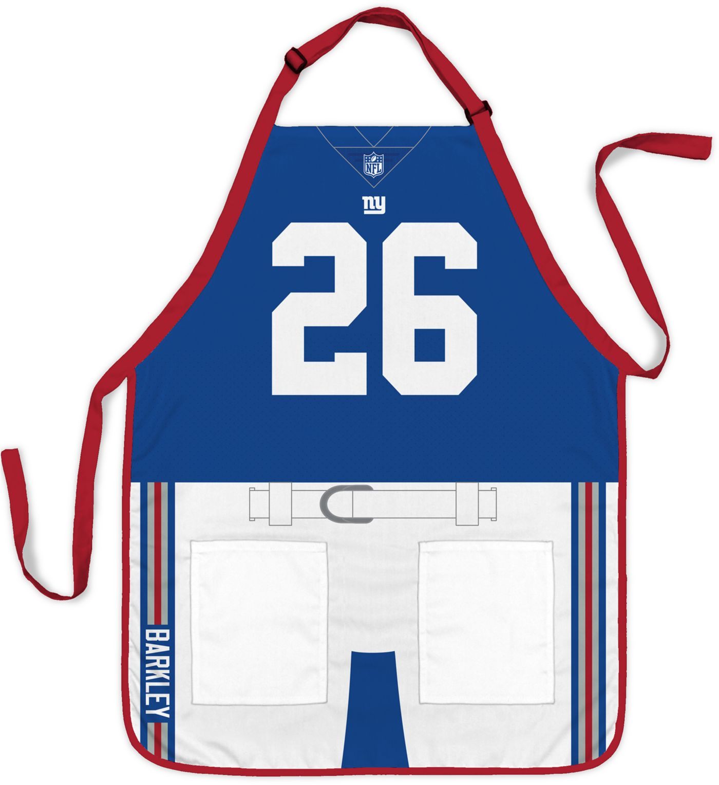 Party Animal New York Giants Saquon Barkley #26 Uniform Apron