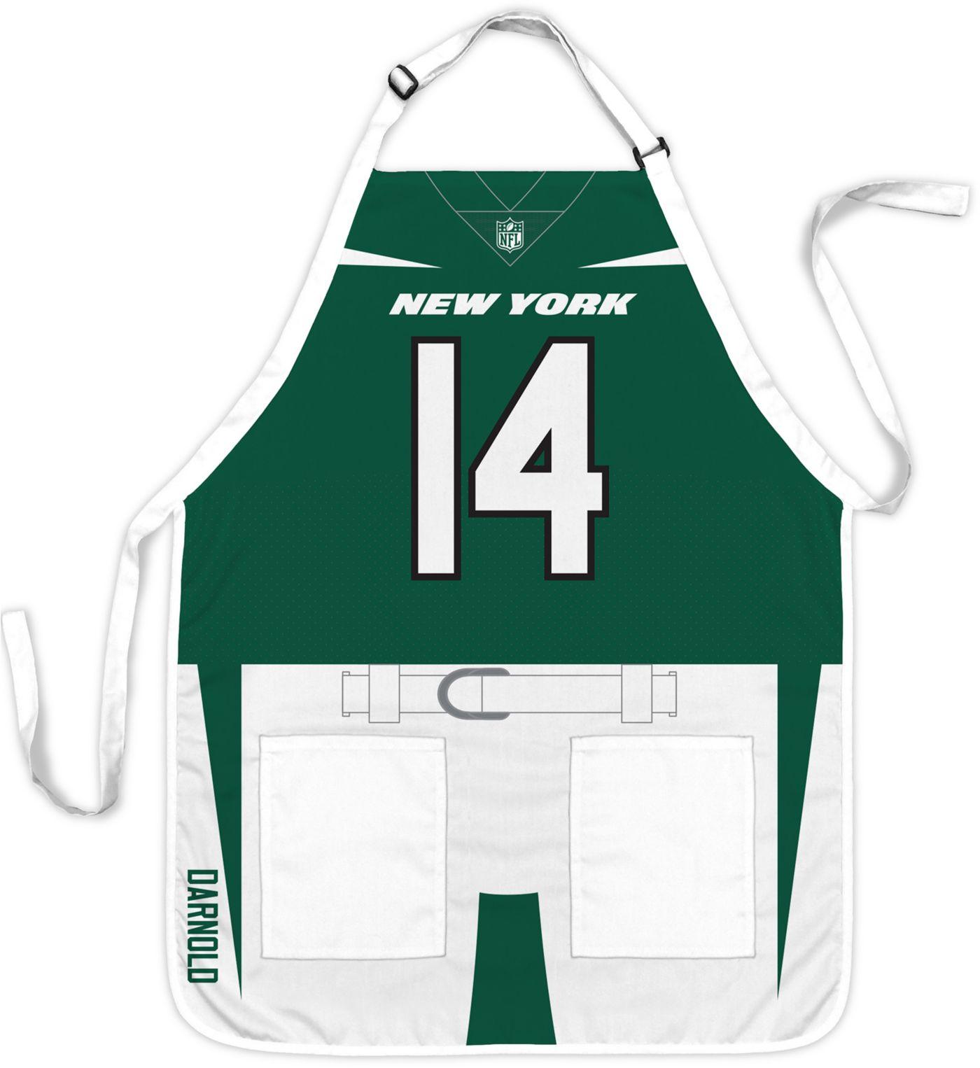 Party Animal New York Jets Sam Darnold #14 Uniform Apron