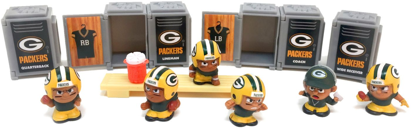 Party Animal Green Bay Packers TeenyMates Figurine Set