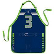 Party Animal Seattle Seahawks Russell Wilson #3 Uniform Apron