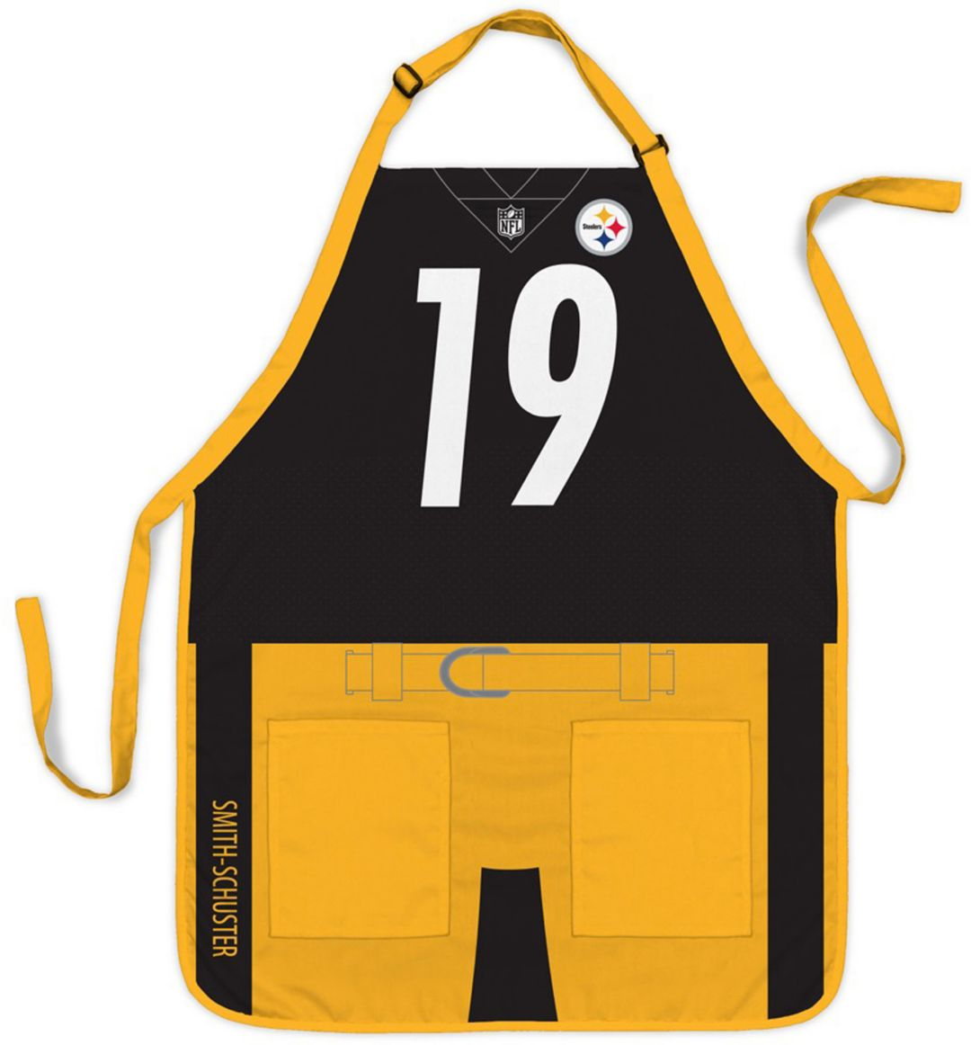 best sneakers bc318 70dc4 Party Animal Pittsburgh Steelers JuJu Smith-Schuster #19 Uniform Apron