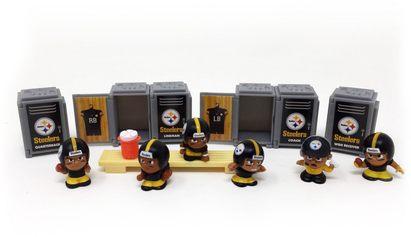 Party Animal Pittsburgh Steelers TeenyMates Figurine Set