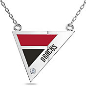 Bixler Arizona Diamondbacks Diamond Engraved Geometric Necklace