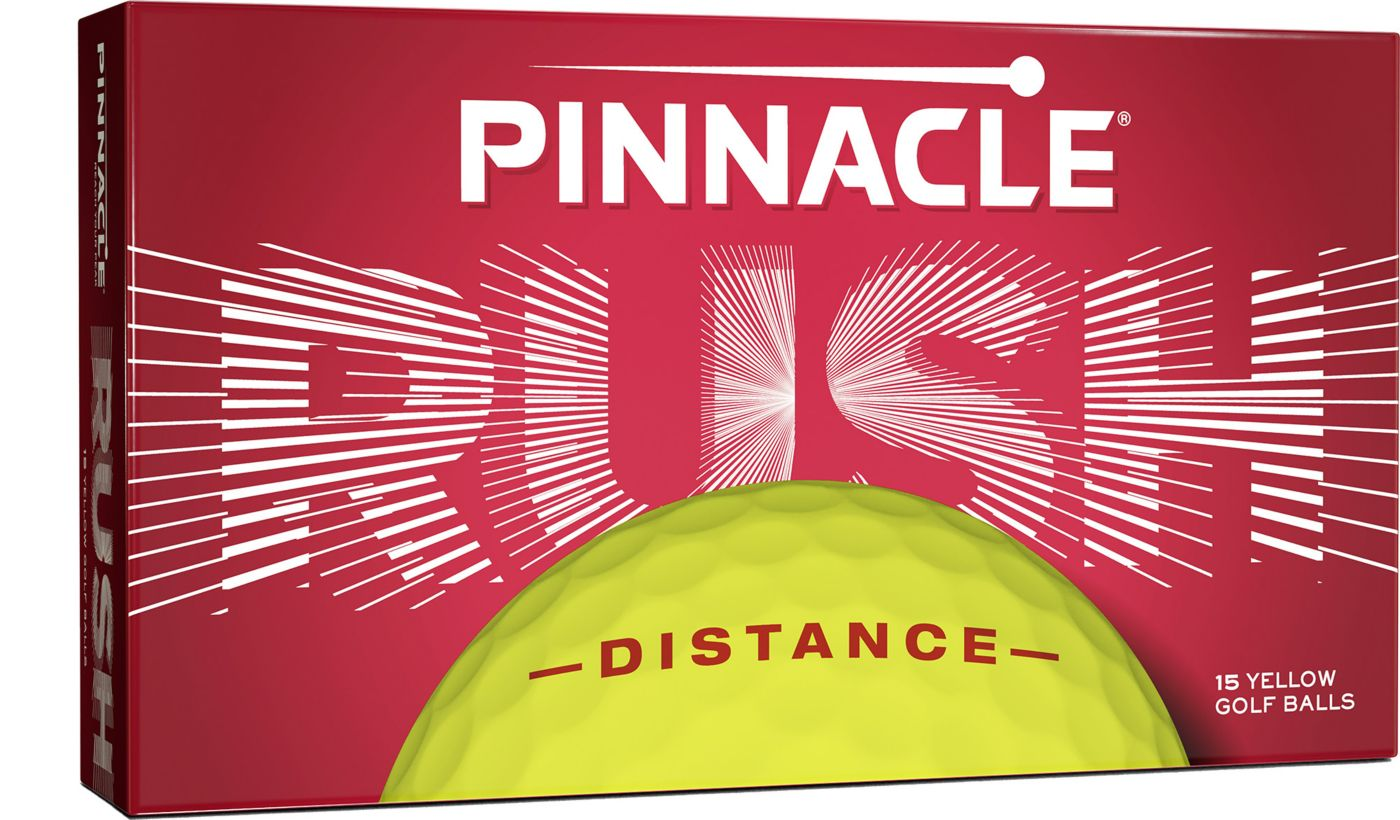 Pinnacle 2019 Rush Yellow Golf Balls