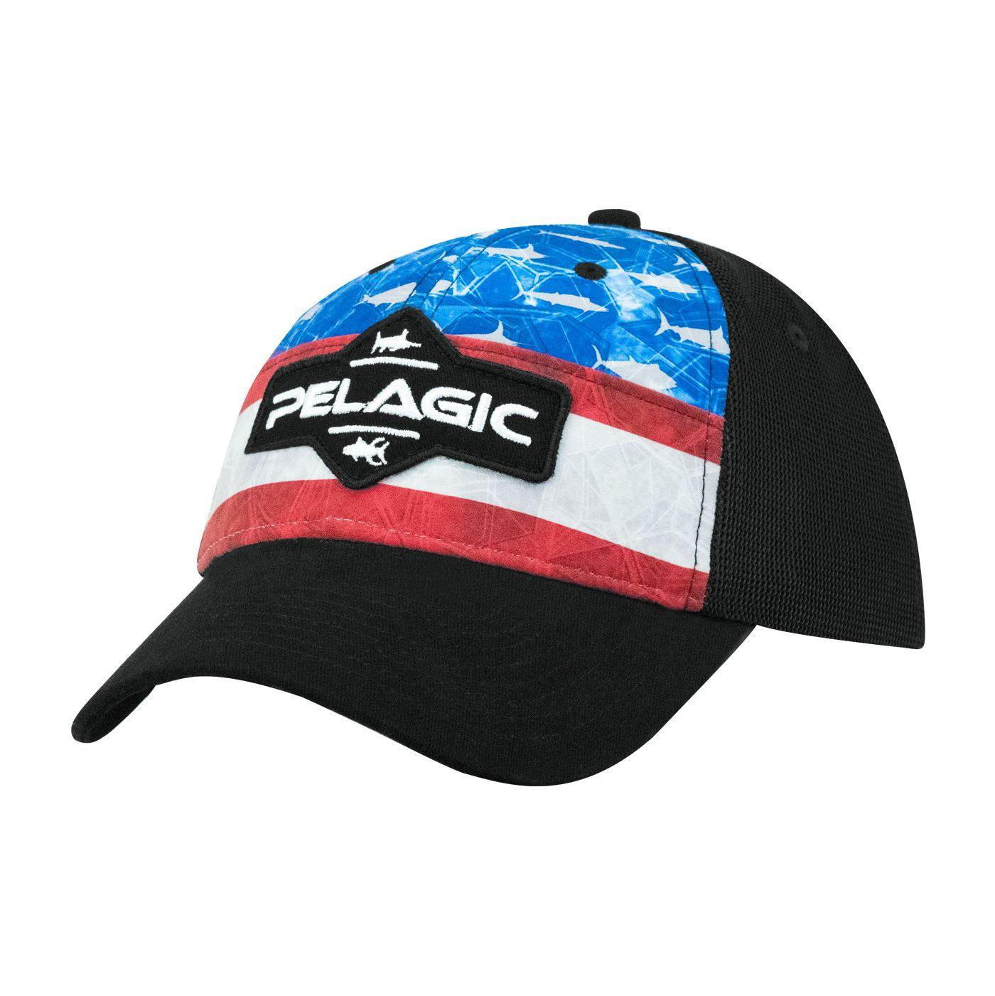 Pelagic Men's Offshore Americamo Baseball Hat