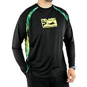 Pelagic Men's VaporTek Sideline Performance Dorado Hex Fishing Shirt