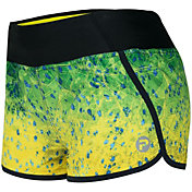 Pelagic Women's Bali Active Hex Dorado Shorts