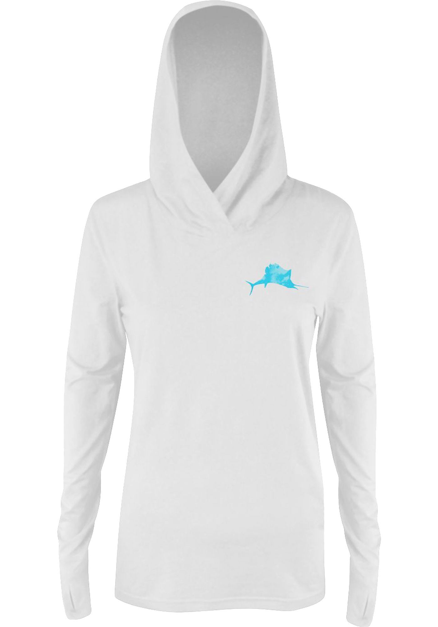 Pelagic Women's UltraTek Long Sleeve Hooded Sunshirt