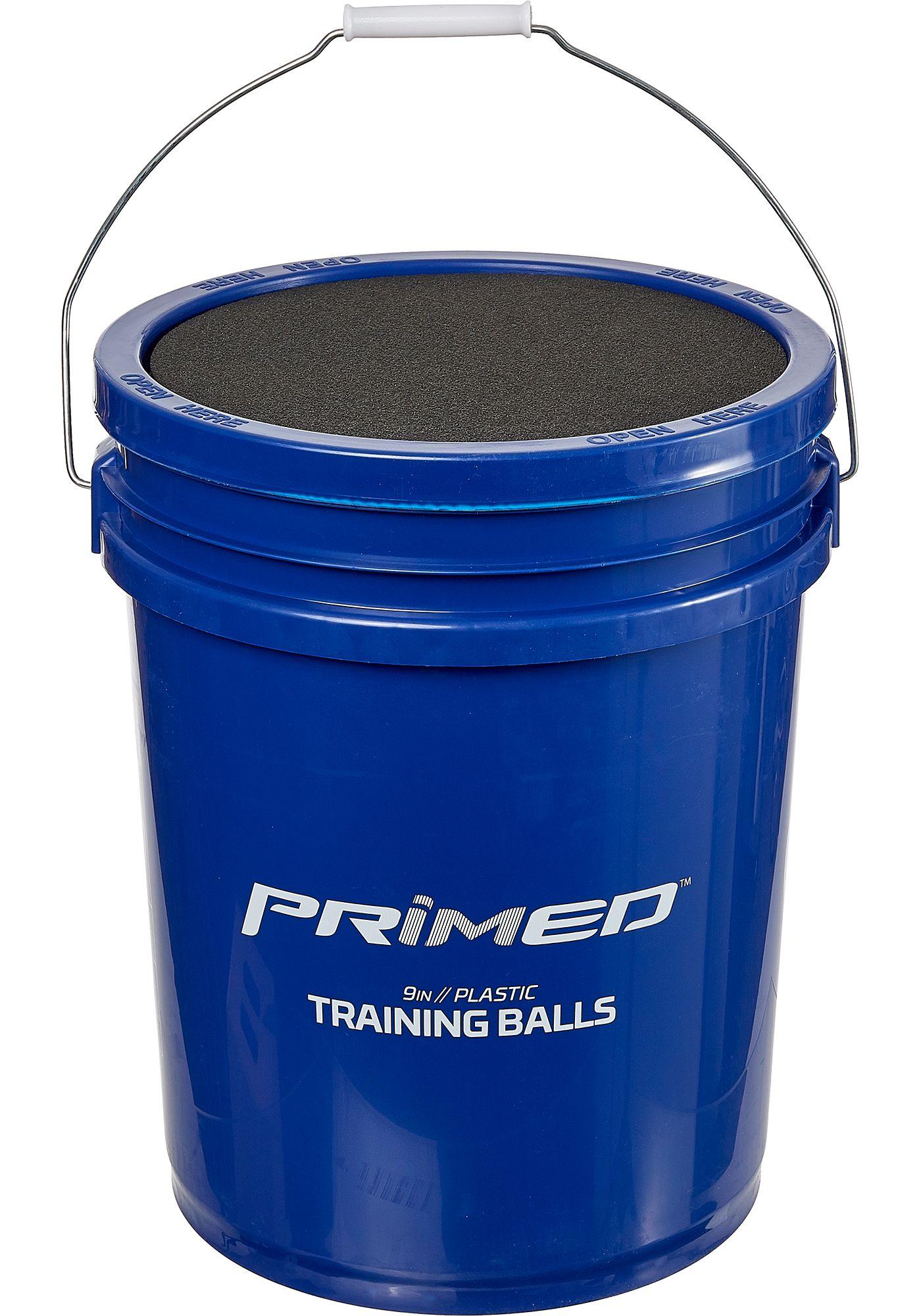 PRIMED Plastic Training Ball Bucket - 48 Pack