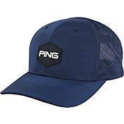 PING Men's Vented Hex Golf Hat
