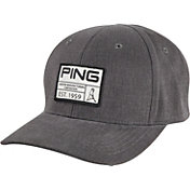 PING Men's Vintage Patch Golf Hat