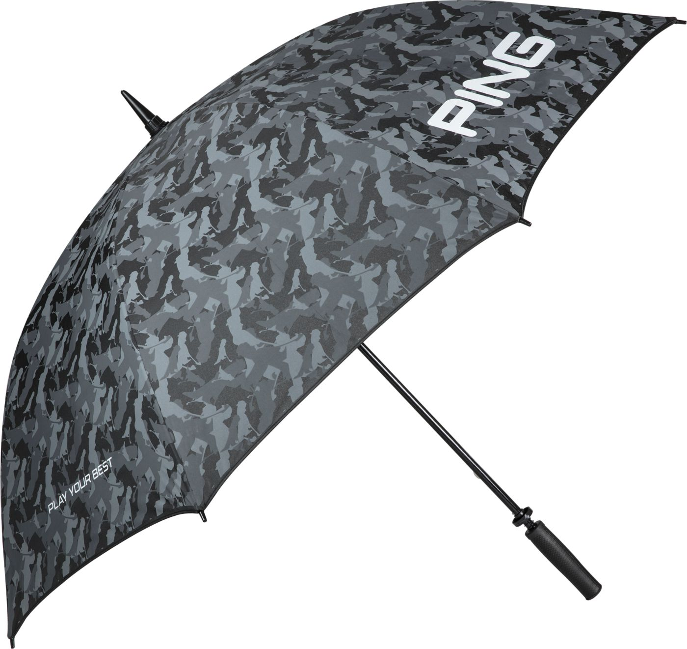 PING Camo Single Canopy Golf Umbrella