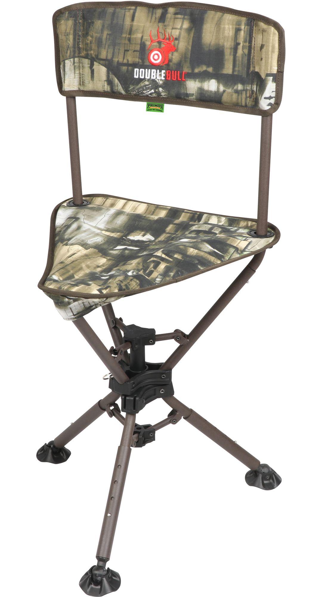 Amazing Primos Swivel Tri Stool Ground Blind Hunting Chair Inzonedesignstudio Interior Chair Design Inzonedesignstudiocom