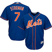 Majestic Men's Replica New York Mets Marcus Stroman #7 Cool Base Alternate Royal Jersey