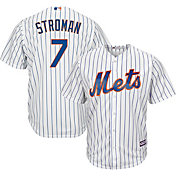 Majestic Men's Replica New York Mets Marcus Stroman #7 Cool Base Home White Jersey