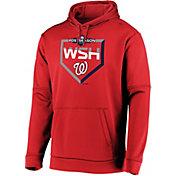 Majestic Men's Washington Nationals 2019 MLB Postseason On-Field Therma Base Hoodie