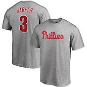 008537335cd Product Image · Majestic Men s Philadelphia Phillies Bryce Harper  3 Grey T- Shirt