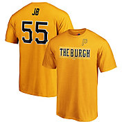 Majestic Men's Pittsburgh Pirates Josh Bell #55 Little League Classic T-Shirt