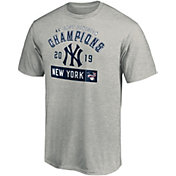 Majestic Men's New York Yankees 2019 AL East Division Champions Roster T-Shirt