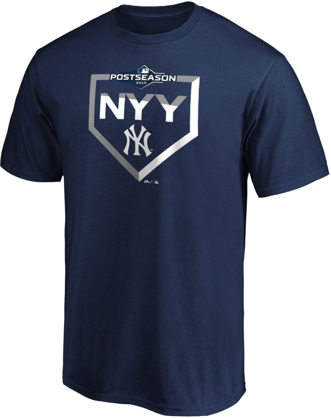 Majestic Men's New York Yankees 2019 MLB Postseason T-Shirt