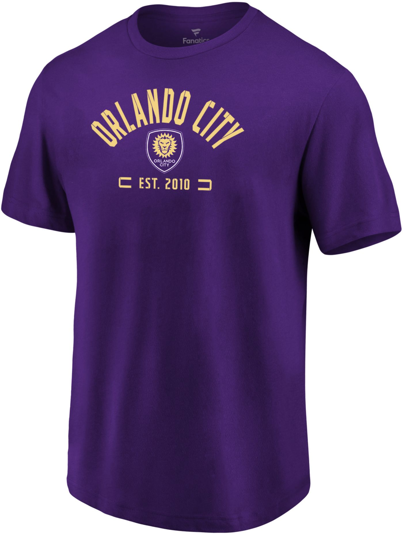 MLS Men's Orlando City Battle Arc Purple T-Shirt