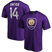 MLS Men's Orlando City Dom Dwyer #14 Purple Player T-Shirt