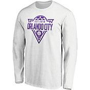 MLS Men's Orlando City Iconic Scarf White T-Shirt